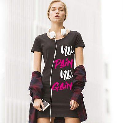 vestido personalizado de Camisetas Torrejón